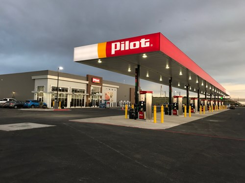 The new Pilot Travel Center in Midland, Texas celebrated it's grand opening on June 27, 2019.